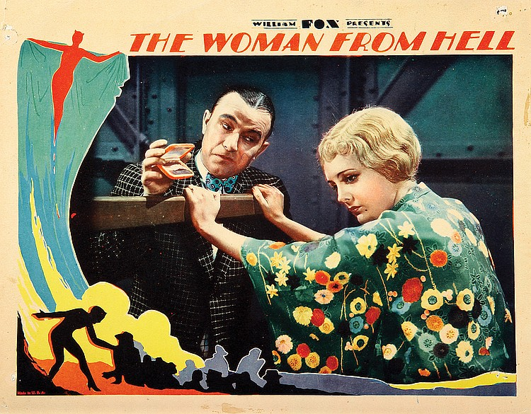Mary Astor and Robert Armstrong in The Woman from Hell (1929)