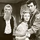 Rock Hudson, Mary Castle, and John McIntire in The Lawless Breed (1952)