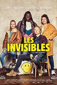 Noémie Lvovsky, Corinne Masiero, Audrey Lamy, and Déborah Lukumuena in Les invisibles (2018)