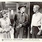 Raymond Bond, Julie London, and Gordon MacRae in Return of the Frontiersman (1950)
