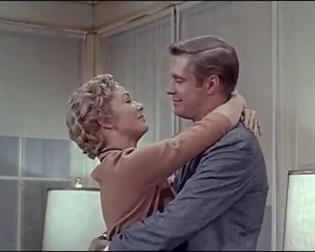 George Peppard and Vera Miles in Startime (1959)