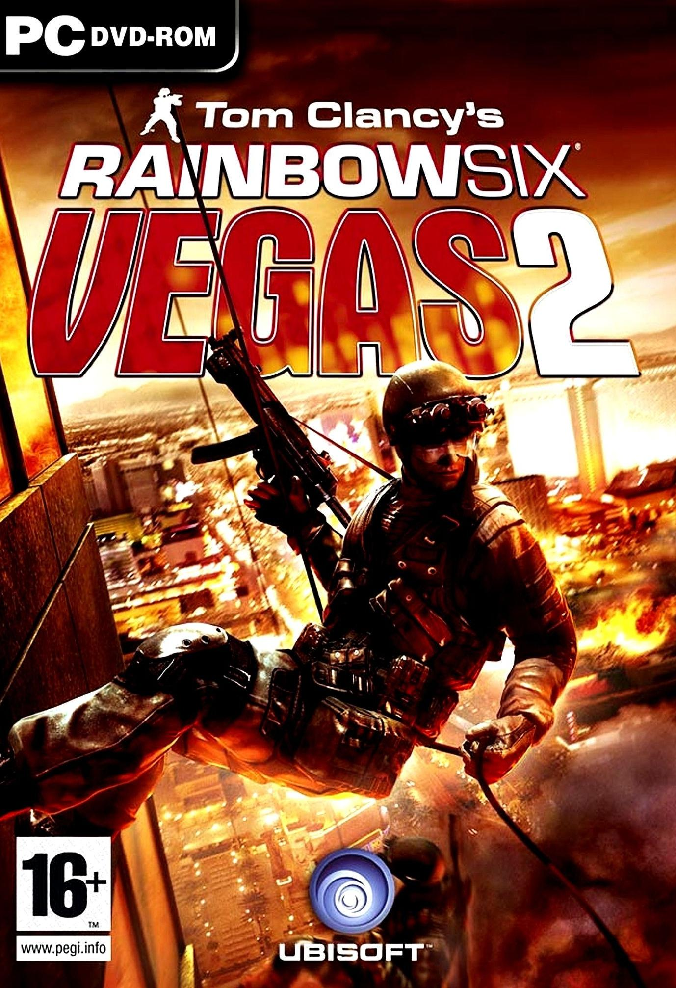 Image result for Tom Clancy's Rainbow Six® Vegas 2 cover pc