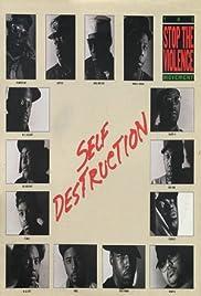 Stop the Violence Movement: Self Destruction Poster