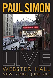 Paul Simon: Live at Webster Hall, New York Poster