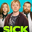 Nick Frost, Rupert Grint, and Lindsay Lohan in Sick Note (2017)