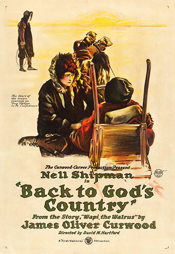 Charles Arling, Wheeler Oakman, and Nell Shipman in Back to God's Country (1919)