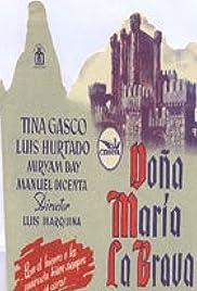 Doña María la Brava Poster