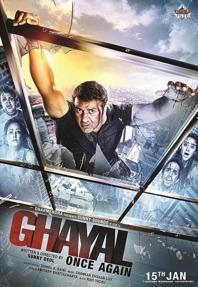 Ghayal Once Again 2016 Movie BRRip 300mb 480p HD 720p