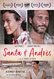 Santa & Andrés Poster