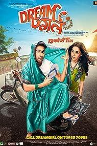 Nushrat Bharucha and Ayushmann Khurrana in Dream Girl (2019)