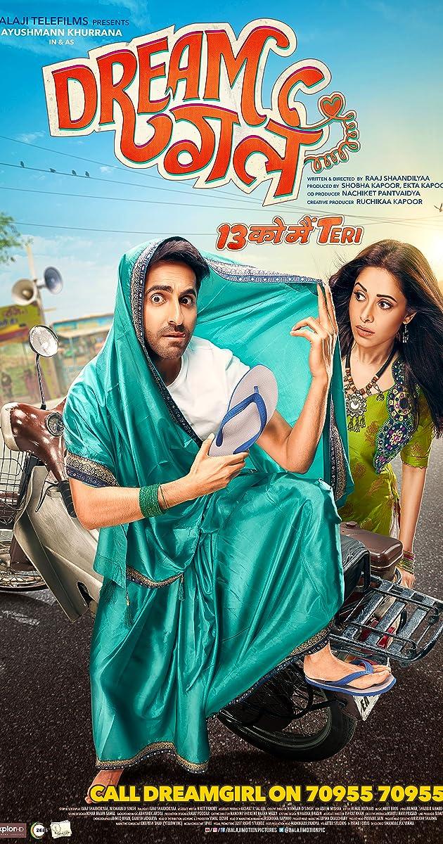 Dream Girl 2019 Hindi 720p Pre-DVD Rip x264 AAC { TaRa }.mkv