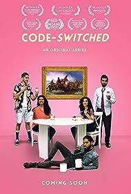Heston Charres, Vikram Pandya, Stephen George, Karan Sunil, Sabeen Sadiq, Sonal Aggarwal, and Saurabh Pande in Code-Switched
