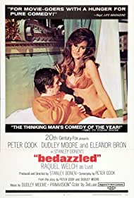 Raquel Welch and Dudley Moore in Bedazzled (1967)