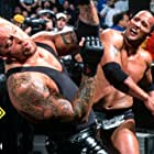 Mark Calaway and Dwayne Johnson in WWF No Way Out (2002)