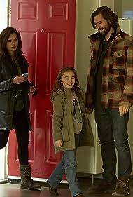 Michiel Huisman, Tatiana Maslany, and Skyler Wexler in Orphan Black (2013)