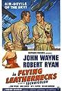John Wayne, Janis Carter, and Robert Ryan in Flying Leathernecks (1951)