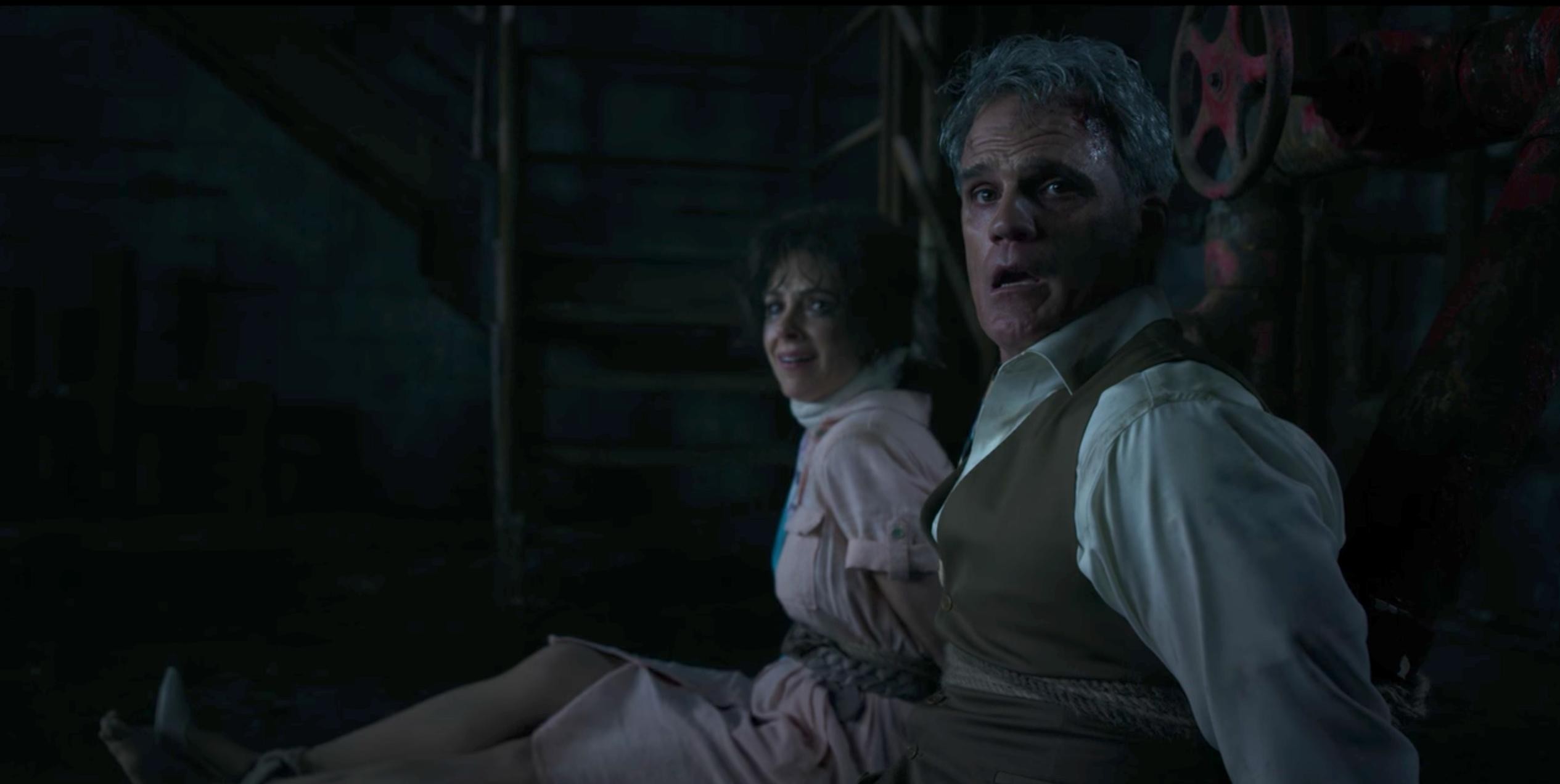 Michael Park and Holly A. Morris in Stranger Things (2016)