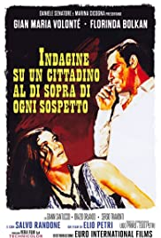 Investigation of a Citizen Above Suspicion Poster