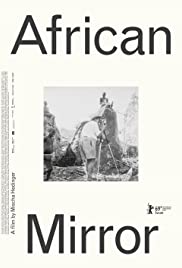 African Mirror Poster