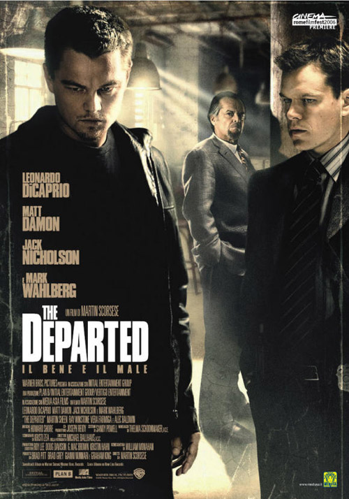 The Departed 2006 Hindi Dual Audio 525MB BDRip ESubs Download