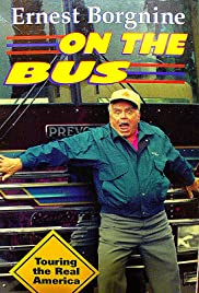 Ernest Borgnine on the Bus Poster