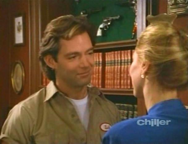 Todd Allen and Valerie Wildman in Freddy's Nightmares (1988)