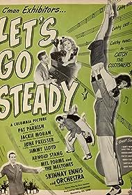 Skinnay Ennis, Jimmy Lloyd, Jackie Moran, Pat Parrish, and June Preisser in Let's Go Steady (1945)