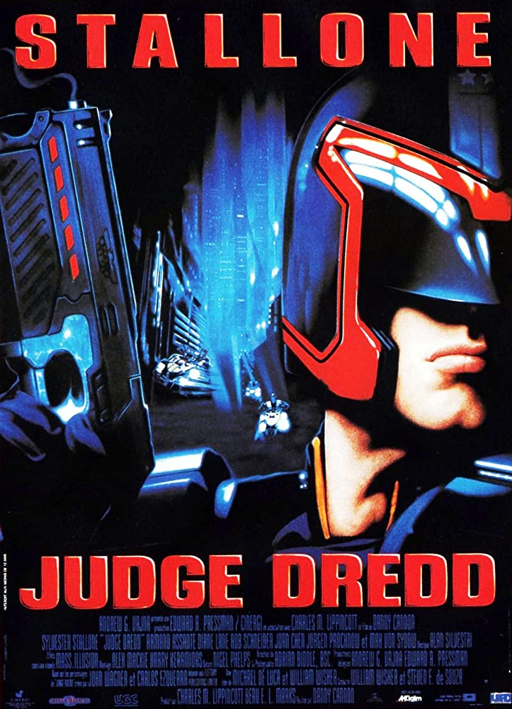 Sylvester Stallone in Judge Dredd (1995)
