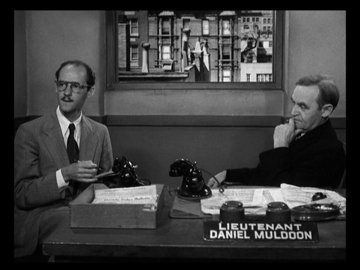 Barry Fitzgerald and David Opatoshu in The Naked City (1948)