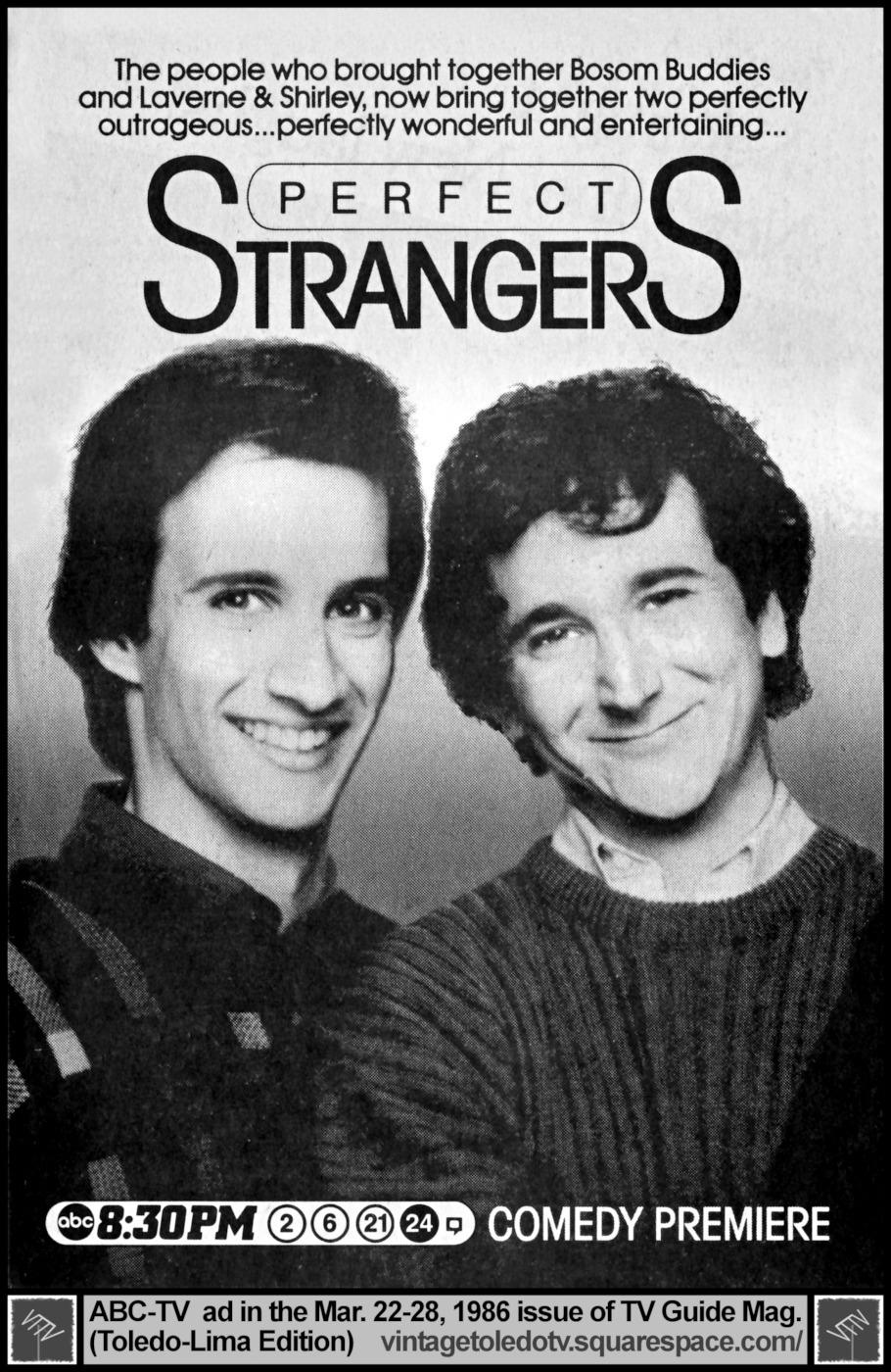Perfect Strangers (1 Sezonas)
