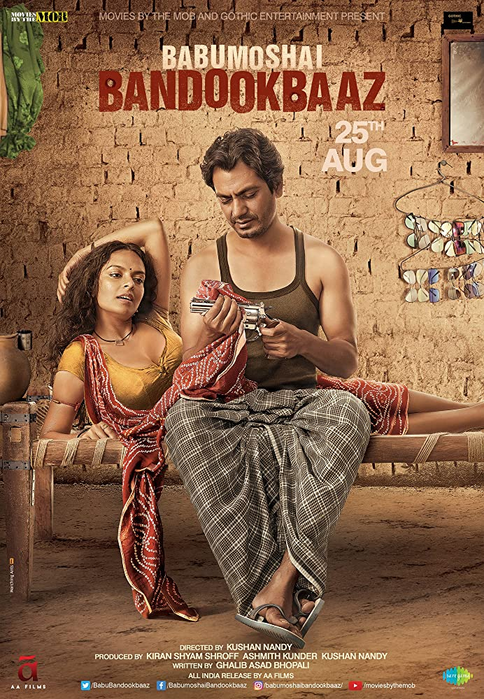 Babumoshai Bandookbaaz 2017 Hindi 350MB WEB-DL 480p