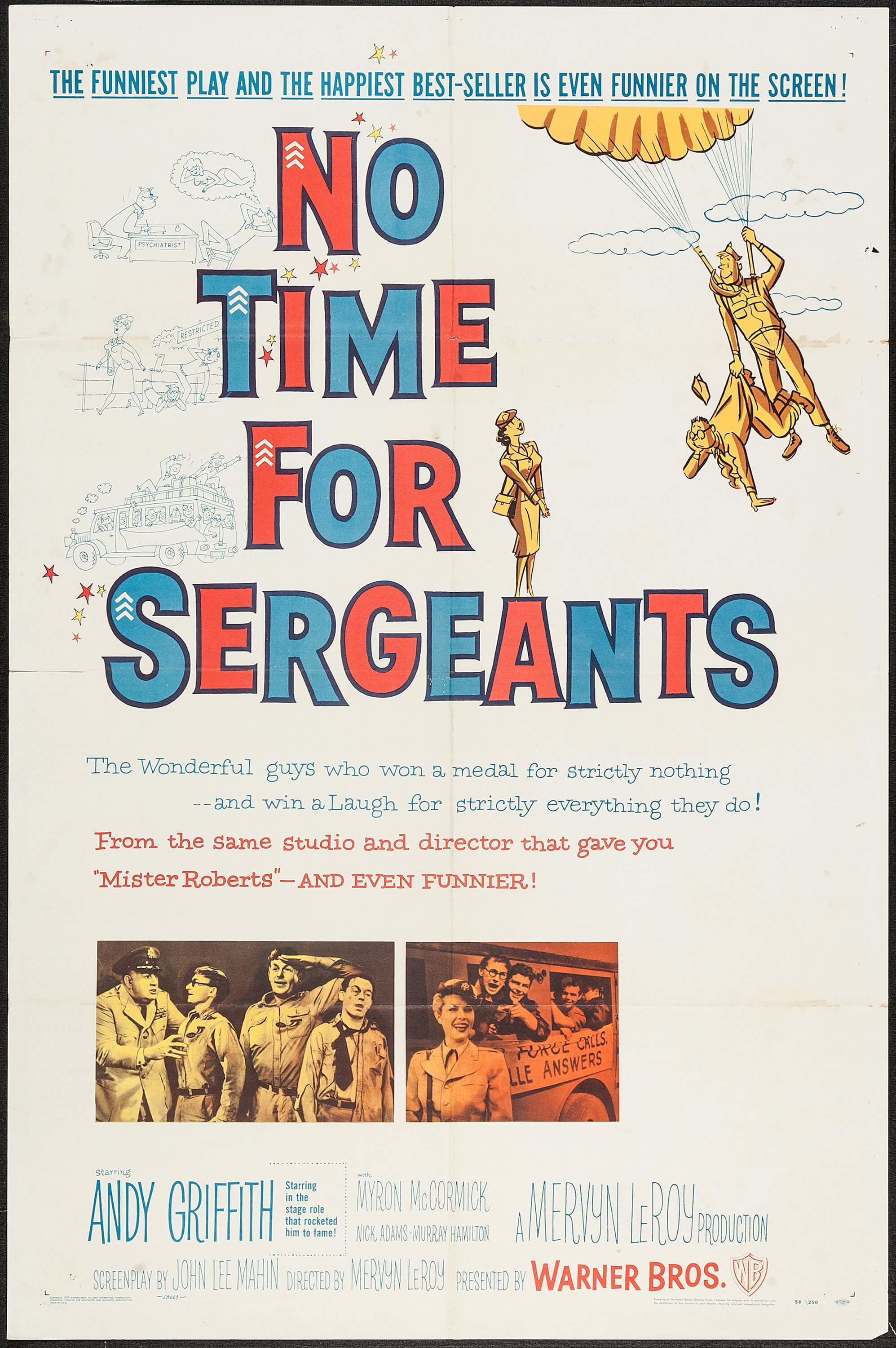 No Time for Sergeants (1958) - IMDb