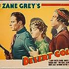 Buster Crabbe, Marsha Hunt, and Tom Keene in Desert Gold (1936)