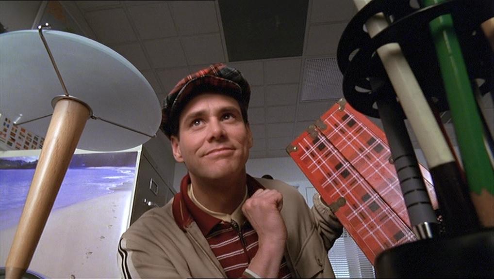 Jim Carrey in The Truman Show (1998) Temas de conversación de los personajes