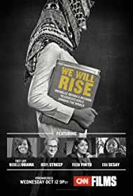Meryl Streep, Michelle Obama, Freida Pinto, and Isha Sesay in We Will Rise: Michelle Obama's Mission to Educate Girls Around the World (2016)