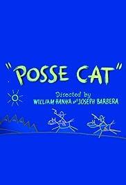 Posse Cat Poster
