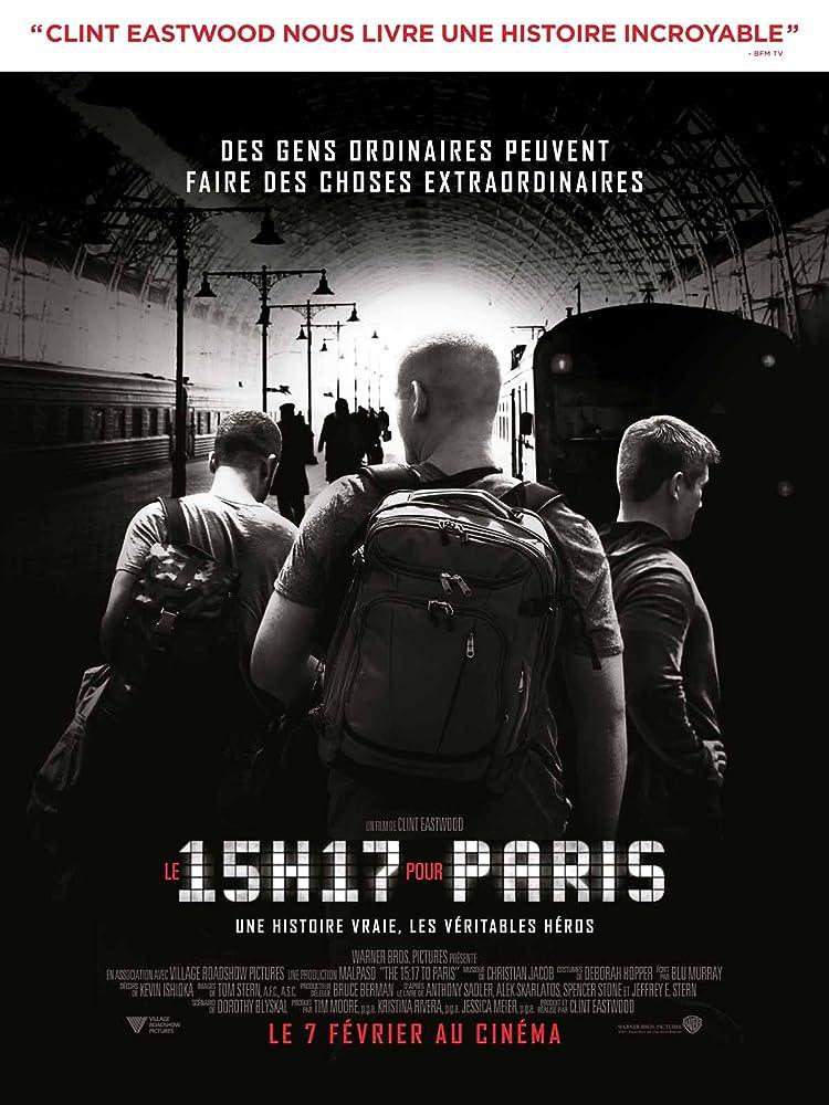 The 15 17 To Paris 2018