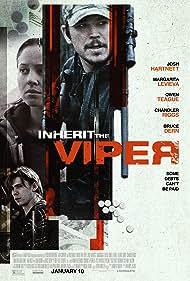 Josh Hartnett, Margarita Levieva, and Owen Teague in Inherit the Viper (2019)
