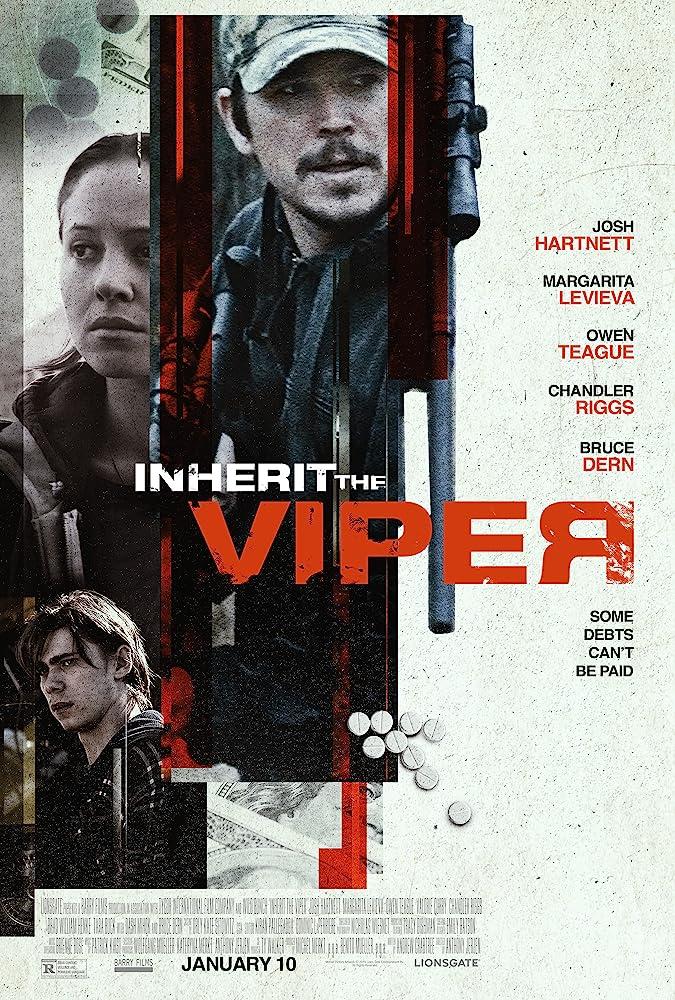 Josh Hartnett and Margarita Levieva in Inherit the Viper (2019)