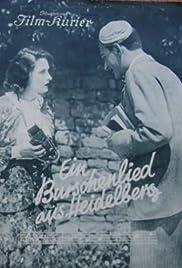 Ein Burschenlied aus Heidelberg Poster