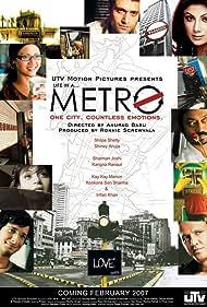 Sharman Joshi, Irrfan Khan, Shilpa Shetty Kundra, Konkona Sen Sharma, Shiney Ahuja, Kay Kay Menon, and Kangana Ranaut in Life in a Metro (2007)