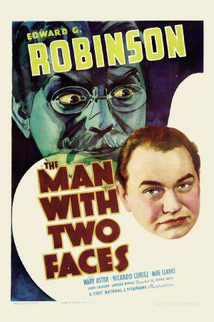 Edward       G. Robinson in The Man with Two Faces (1934)