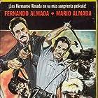 Fernando Almada, Mario Almada, Eleazar Garcia Jr., and Jorge Reynoso in Siete en la mira (1984)
