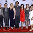 Cast and crew of Seeking Valentina enjoy a private screening of the film at Lyfe Kitchen in West Hollywood.