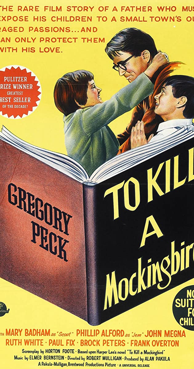 To Kill A Mockingbird 1962 Imdb