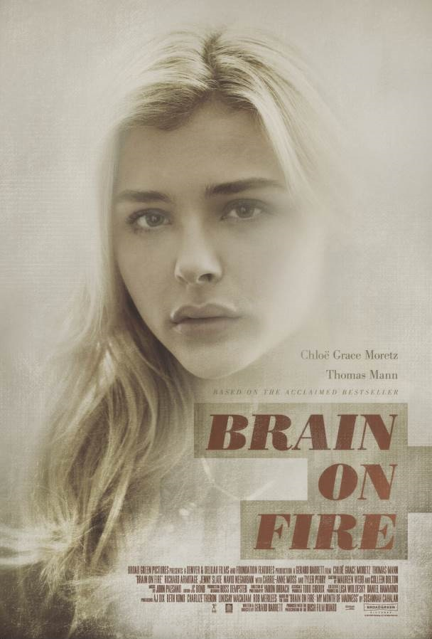 Brain On Fire Movie Poster