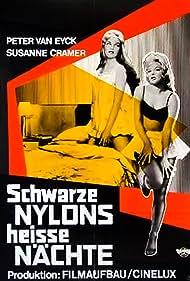 Susanne Cramer and Peter van Eyck in Schwarze Nylons - Heiße Nächte (1958)