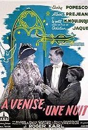 À Venise, une nuit Poster