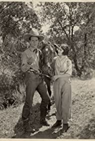 Edmund Cobb, Velma Connor, and Raven the Horse in The Scrappin' Kid (1926)