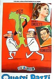 Questi pazzi, pazzi italiani Poster